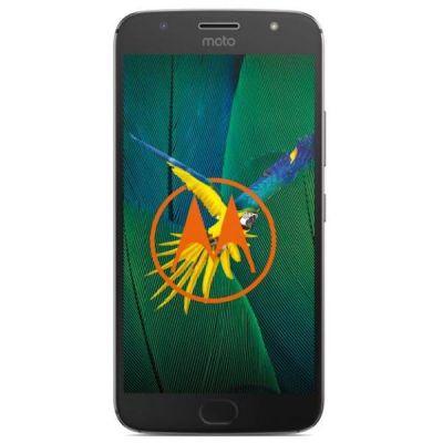 Motorola Moto G5s Plus grau Android 7.1 Smartphone