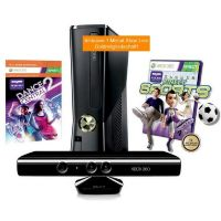 Microsoft Xbox 360 S 250 GB inkl. Kinect + Kinect Sports + Dance Central 2
