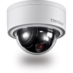 TRENDnet TV-IP420P Outdoor Dome PTZ Netzwerkkamera 3MP PoE Bild0