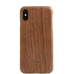 Woodcessories EcoCase Cevlar für iPhone X walnuss Bild0