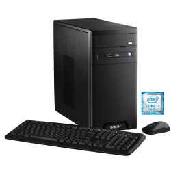 Hyrican CyberGamer black 5744 i7-7700 16GB 1TB 240GB SSD GTX1070Ti ohne Windows  Bild0