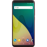 Wiko View XL Dual-SIM cherry red Android 7.1 Smartphone
