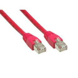 Good Connections Patch Netzwerkkabel RJ45 CAT6 250MHz 0,3m rot Bild0