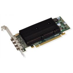 Matrox M9148 LP 1024MB DDR2 PCIe 4x mini DisplayPort LP passiv - Retail  Bild0