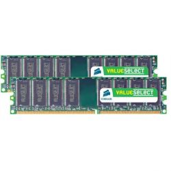 2GB (2x1GB) Corsair ValueSelect DDR2-667 CL5 (5-6-6-18) RAM - Kit Bild0