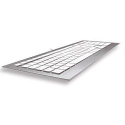 Cherry JK-0300DE STRAIT Corded Multimedia Keyboard USB silber Bild0