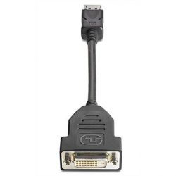 HP Display Port zu DVI-D Adapter (FH973AA) Bild0