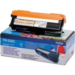 Brother TN320C Toner cyan Bild0