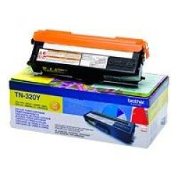 Brother TN320Y Toner gelb Bild0