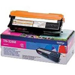 Brother TN328M Toner magenta Bild0