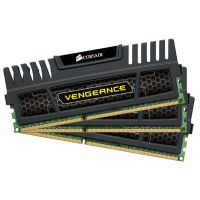 12GB (3x4GB) Corsair Vengeance DDR3-1600 CL9 (9-9-9-24) RAM DIMM Kit