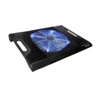Thermaltake Massive 23 LX Notebook kühler Blue LED schwarz  Alu CLN0015