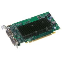 Matrox M9120 512MB PCIe Grafikkarte 2xDVI/TV-Out passiv