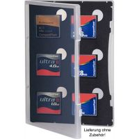 Gepe Card Safe Store CF-Speicherkartenarchievierung transparent