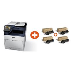 Xerox WorkCentre 6515DNI Multifunktionsfarblaserdrucker + Toner Multipack Bild0