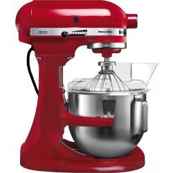 KitchenAid HEAVY DUTY 5KPM5 EER Küchenmaschine rot Bild0