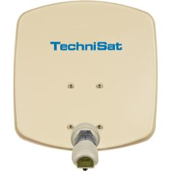 Technisat DigiDish 33 mit Single LNB, beige Bild0
