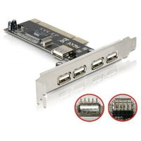 DeLOCK PCI Karte > 4 + 1 USB 2.0 89028
