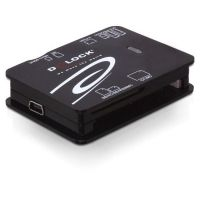 DeLOCK USB 2.0 Card Reader - All in 1 - 91471