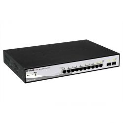 D-Link DGS-1210-10P 10x Gigabit Smart Switch (2x Mini GBIC) Bild0
