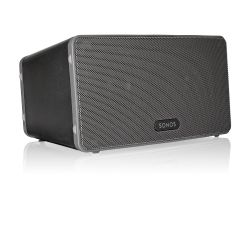 Sonos PLAY:3 schwarz Vielseitiger Multiroom Smart Speaker für Music Streaming Bild0