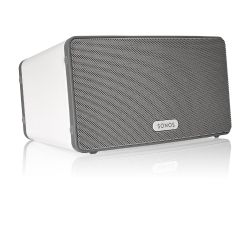 Sonos PLAY:3 weiß Vielseitiger Multiroom Smart Speaker für Music Streaming Bild0