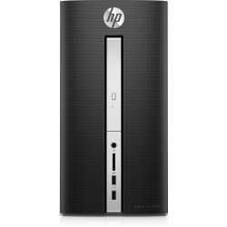 HP Pavilion 570-p574ng Desktop PC i7-7700 8GB 1TB 128GB SSD GTX1050Ti Windows 10 Bild0