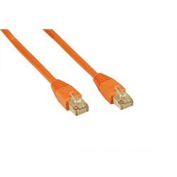 Patch Netzwerkkabel RJ45 CAT5+ 20m Orange Bild0