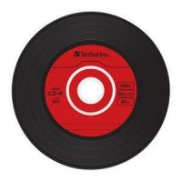 Verbatim 52x CD-R AZO Colours Data Vinyl 80Min 700MB 10er Slim Line