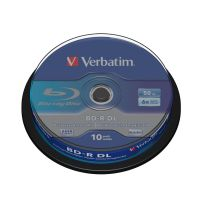 Verbatim 6x BD-R DL Blu-ray Disc 50GB 10er Spindel