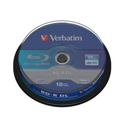 Verbatim 6x BD-R DL Blu-ray Disc 50GB 10er Spindel Bild0