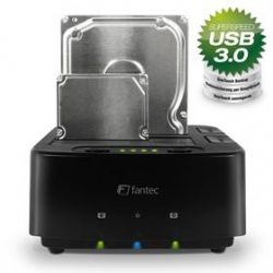 "FANTEC MR-CopyDU3 DOCKING STATION 2,5"" & 3,5"" HDD, USB3.0, Clone, Backup Bild0"