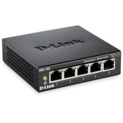 D-Link DGS-105 5-Port Desktop Gigabit Switch  Bild0