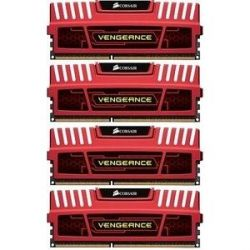 32GB (4x8GB) Corsair Vengeance Rot DDR3-1866 CL10 (10-11-10-30) RAM DIMM - Kit Bild0