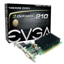 EVGA GeForce G 210 1GB DVI/HDMI/VGA PCIe passiv Low Profile Bild0