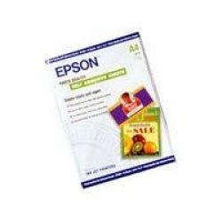 EPSON C13S041106 A4 Photo Quality Self Adhesive Sheets, 10 Blatt, 167 g/qm Bild0