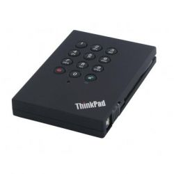 Lenovo ThinkPad USB 3.0 Portable Secure 500GB Festplatte (0A65619) Bild0