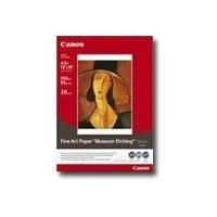 Canon 0587B008 Fine Art Paper Photo Rag FA-PR1 Fine Art-Photopapier, 20 Blatt