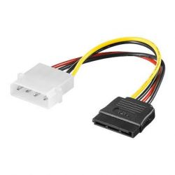 Good Connections SATA Stromadapterkabel 0,15m 1x 5,25 Bu. IDE/ 15pin SATA Bild0