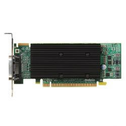 Matrox M9120 Plus LP 512MB DDR2 PCIe 2xDVI passiv Low Profile - Retail Bild0