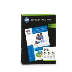 HP CR711AE Original OfficeJet Value Pack 933 XL 3x Patrone + Papiersatz Bild0