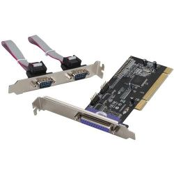 i-tec PCI Card 2x Serial RS232 + 1x Parallel DB25 Bild0