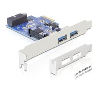 DELOCK PCIe USB 3.0 PCIe Adapter 2x extern1x intern 89315
