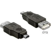 DeLOCK Adapter USB mini St. / USB A Buchse OTG