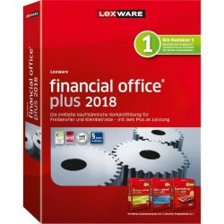Lexware financial office plus 2018 Jahresversion (365-Tage), Minibox Bild0