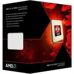 AMD FX-8320 (8x 3.5GHz) 8MB Black Edition (Vishera) Sockel AM3+ CPU BOX Bild0