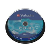 Verbatim 52x CD-R Extra Protection 80Min 700MB 10er Spindel