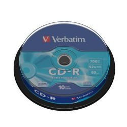 Verbatim 52x CD-R Extra Protection 80Min 700MB 10er Spindel Bild0