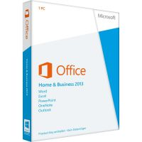 Microsoft Office Home & Business 2013 Win 1PC