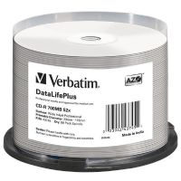 Verbatim 52x CD-R AZO Professional Wide Printable No-ID 700MB 50er Spindel